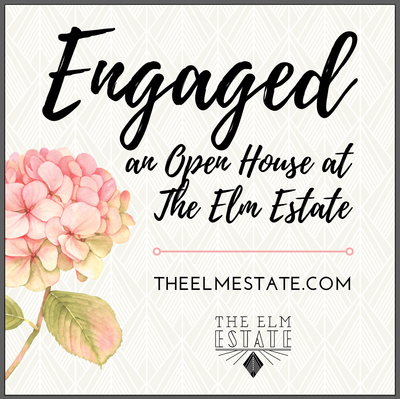 Engaged: An Open House at The Elm Estate